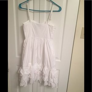 Tracy Feith Dresses - Tracy Feith for Target  White ruffled sundress